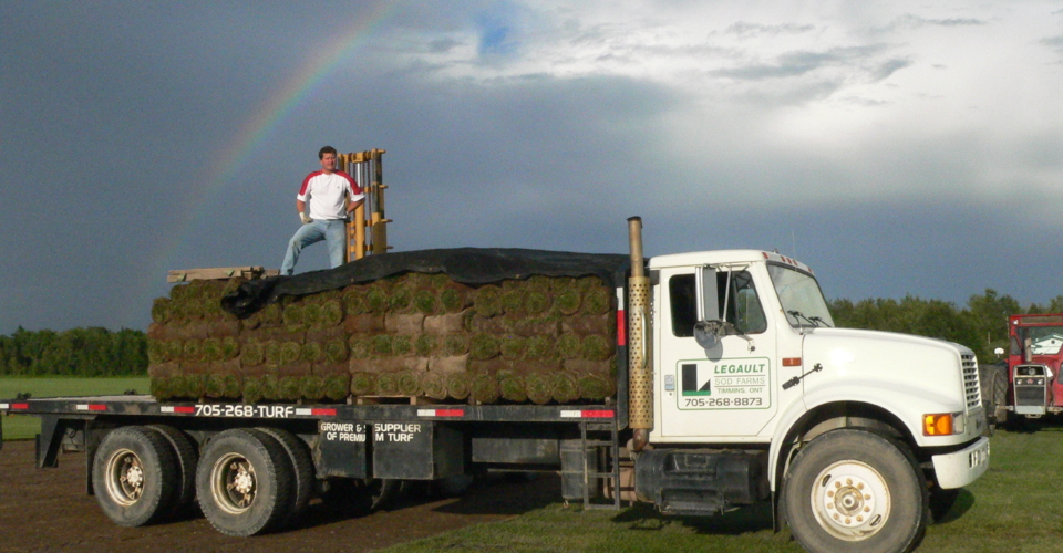 Legault Sod Farms delivery
